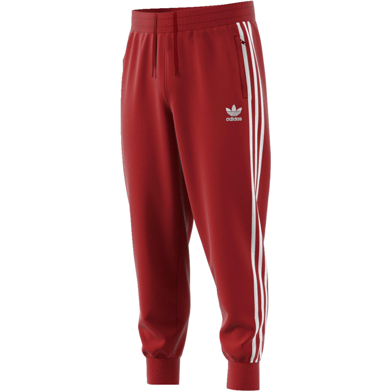 Adidas 3-Streifen Jogginghose für Herren in rost-rot