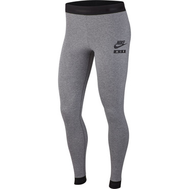 Nike Air Damen Leggings in grau mit hohem Taillienbund in grau