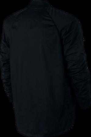 Nike Varsity Jacket Freizeit Jacke für Herren in schwarz