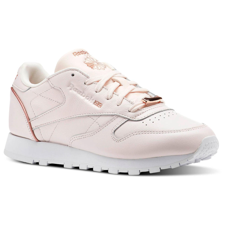 best website 1efad f30cb Reebok Classic Leather HW Vintage Sneakers für Damen in hellrosa