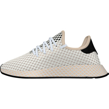 Adidas Deerupt Runner Freizeit Sneakers für Damen in leinen