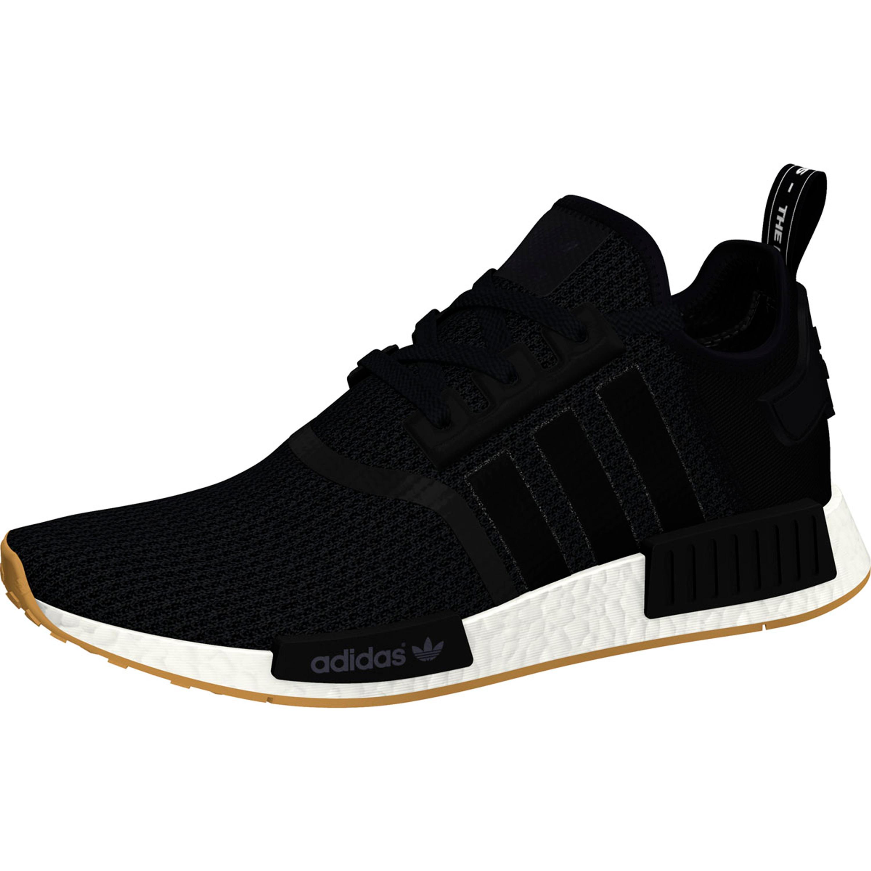 Adidas NMD_R1 Retro-Vintage Running Sneakers für Herren in schwarz