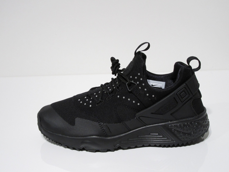 premium selection 56bc1 74150 ... uk promo code for nike air huarache utility freizeit sneakers für herren  in schwarz a015a 7f279
