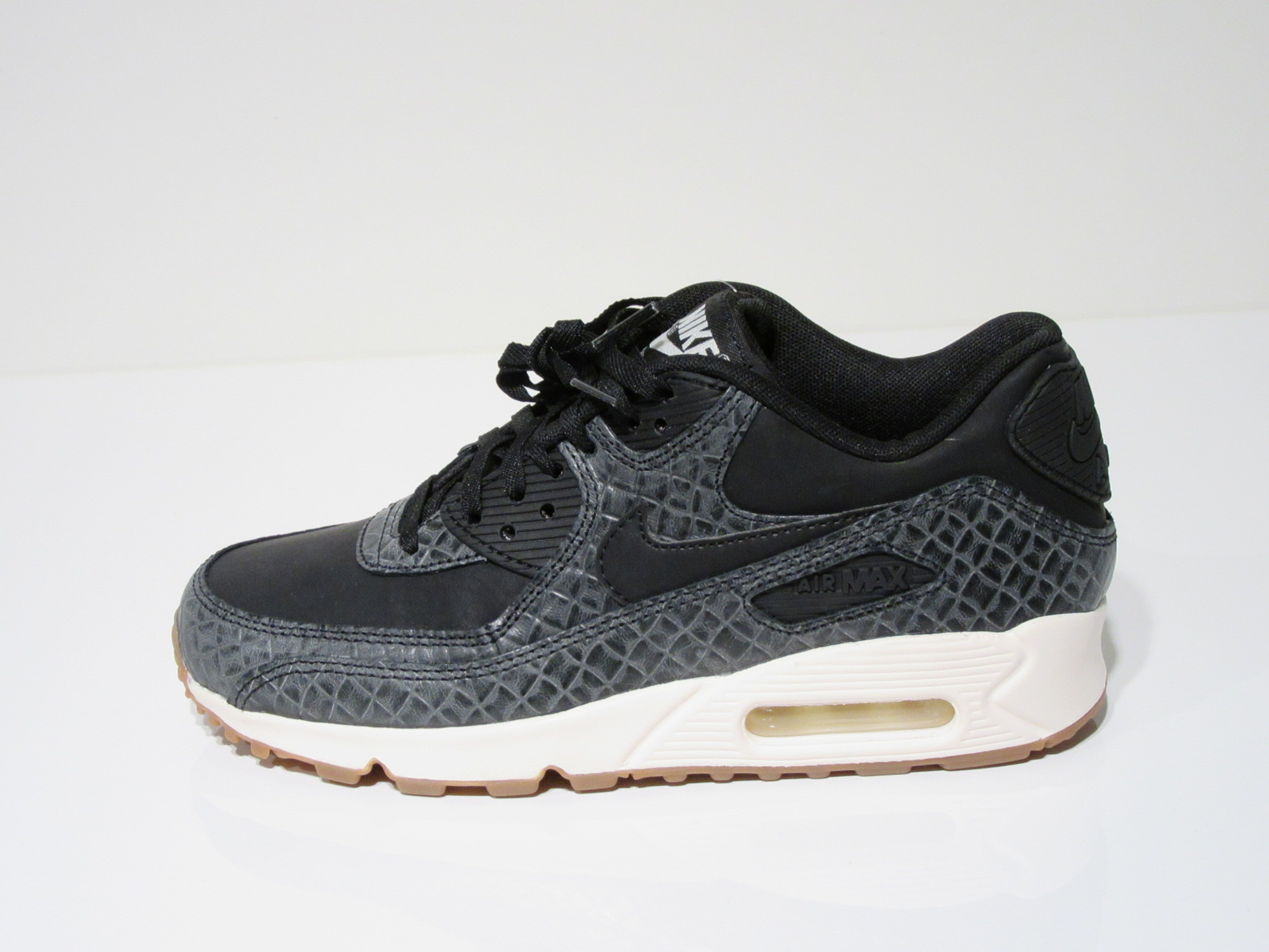 wholesale dealer 5845b 8e2d2 ... best price nike air max 90 premium in schwarz grau für damen 94cd0 52754