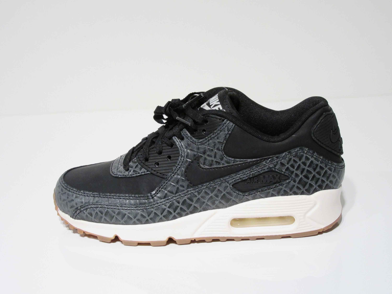 Nike Air Max 90 Premium in schwarz grau für Damen