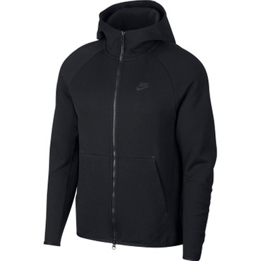 Nike Sportswear Tech Fleece Herren Hoodie in schwarz