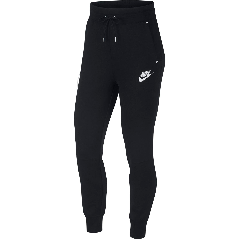 cd99ff21ce4e70 Nike Sportswear Tech Fleece Damenhose Leggings in schwarz
