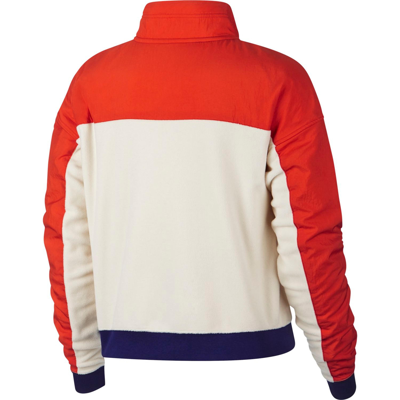 NIKE SPORTSWEAR Top Hz Polar Sweatshirt für Damen Weiß