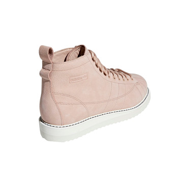 Adidas Superstar Boot Hi-Sneakers für Damen in rosa