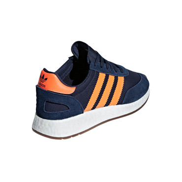 Adidas I-5923 Retro-Style Sneakers für Herren in blau-orange