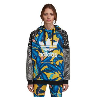 "Adidas Trefoil Hoodie ""The FARM Company""  für Damen gemustert"