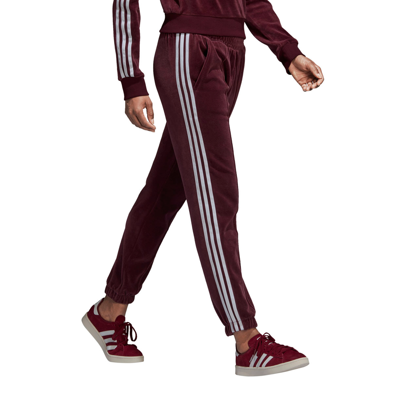 5432cad2da871f Adidas Track Pants Adicolor Retro-Style Trainingshose für Damen in dunkelrot