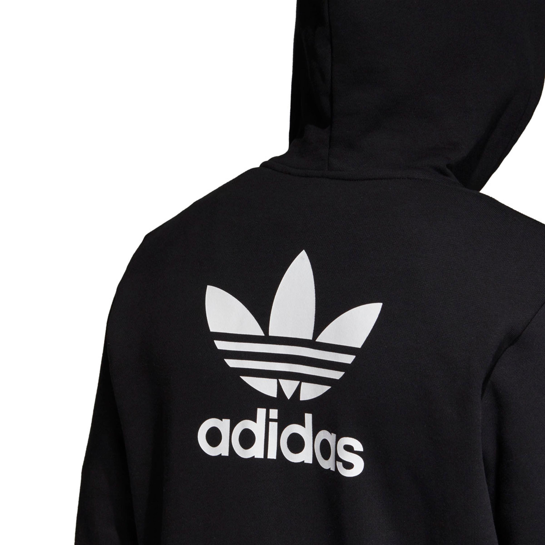 huge discount f3d68 e86f4 Adidas Trefoil Kapuzenjacke Hoodie für Herren in schwarz