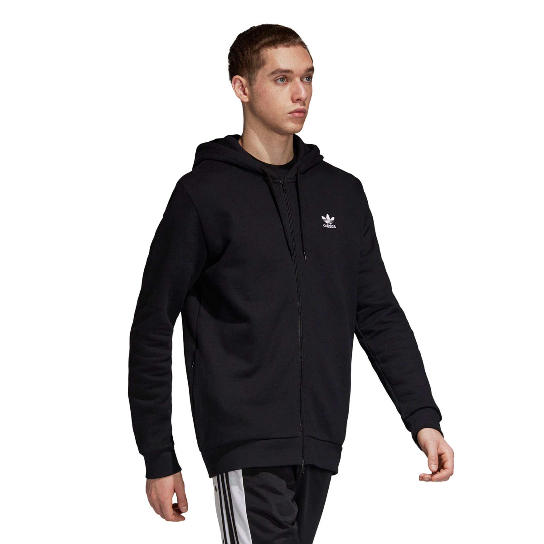 Adidas Herrenbekleidung | adidas Trefoil Hoodie Schwarz