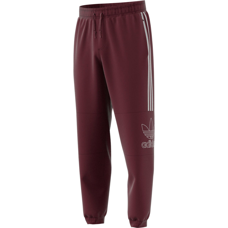 f12bd2dd90cd21 Adidas Outline Hose - Jogginghose für Herren in rotbraun