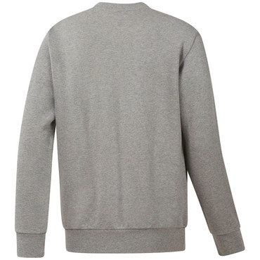 Classics French Terry Big Iconic Starcrest Crewneck Pullover für Herren in grau