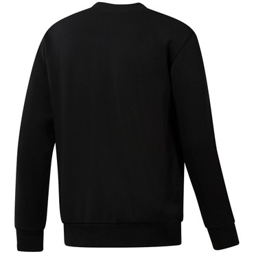 Classics French Terry Big Iconic Starcrest Crewneck Pullover für Herren in schwarz
