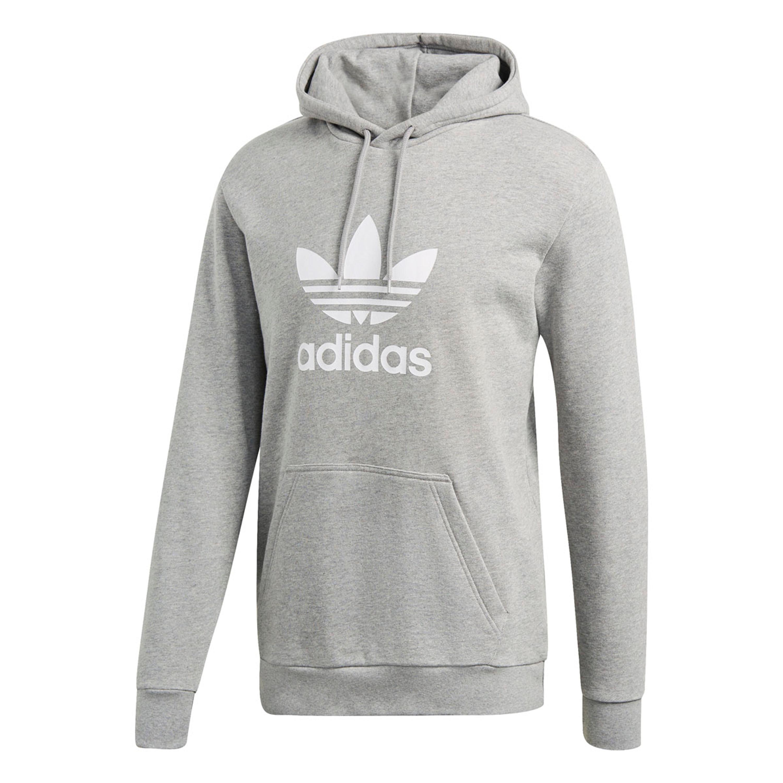 Adidas Trefoil Hoodie für Herren in grau