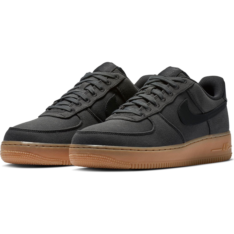 Nike Air Force 1 '07 LV8 Style Basketball Sneakers für Herren in schwarz