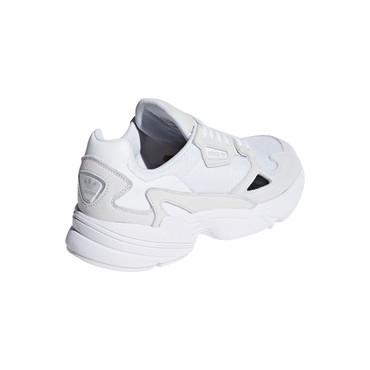 Adidas Falcon 90's Retro & Vintage Sneakers für Damen in weiß