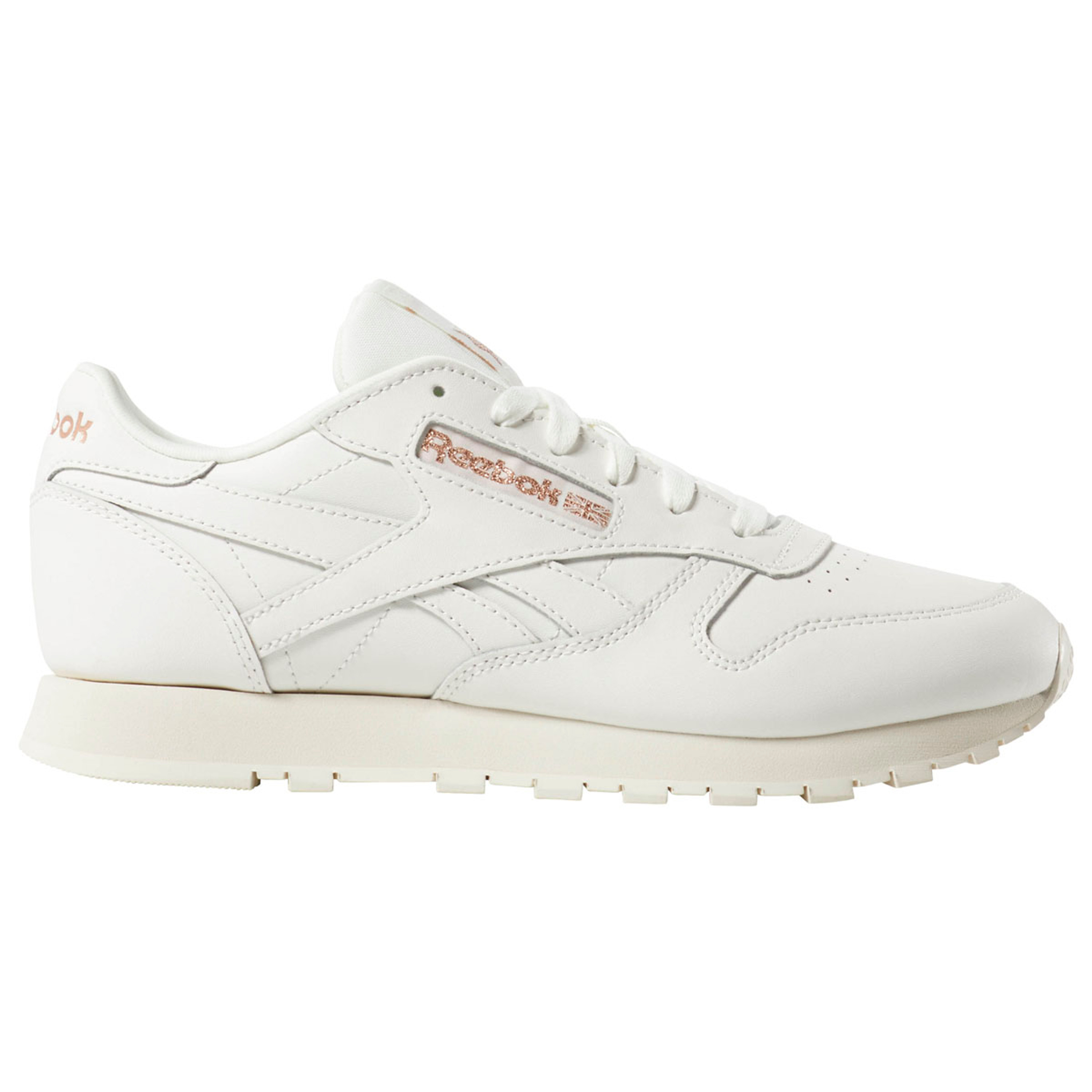 sports shoes d341a 57788 Reebok Classic Leather Retro & Vintage Sneakers für Damen in weiss