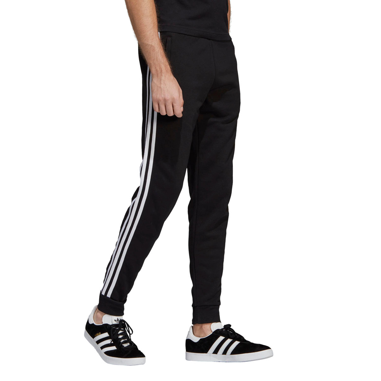 Adidas Adicolor 3-Streifen Hose für Herren in schwarz