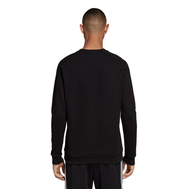 Adidas Essentials Sweatshirt Adicolor Crewneck für Herren in schwarz