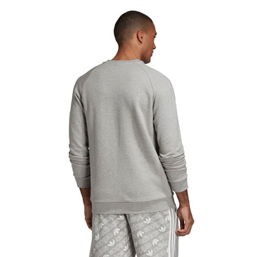 Adidas Essentials Sweatshirt Adicolor Crewneck für Herren in grau