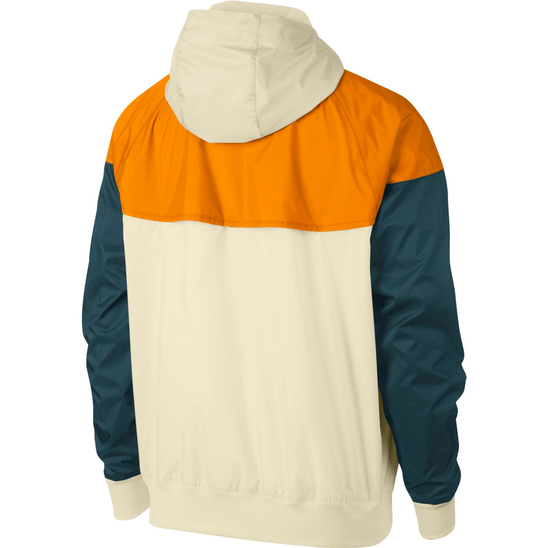Orange Nike Herren Jacke Für Sportswear Windbreaker In Creme Hooded Windrunner YvbyI76gf