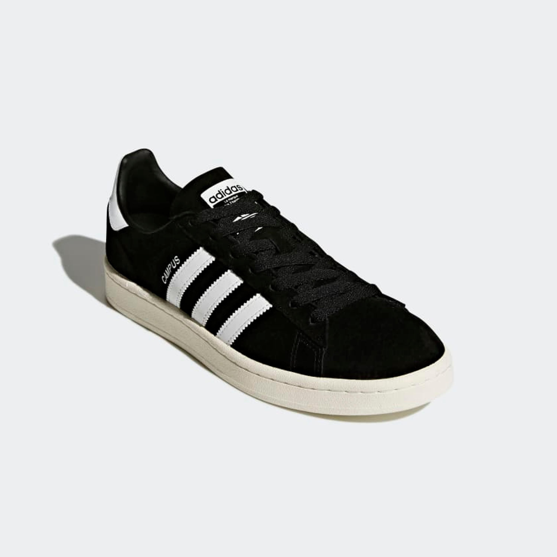 Adidas Campus Retro & Vintage Sneakers für Herren in schwarz-weiss