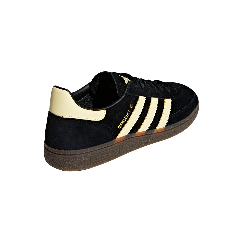 great fit wholesale multiple colors Adidas Handball Spezial Schuh Retro & Vintage Sneakers für Herren in  schwarz-gelb