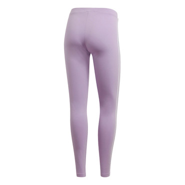 Adidas 3 Stripe Tight Leggings für Damen in lila