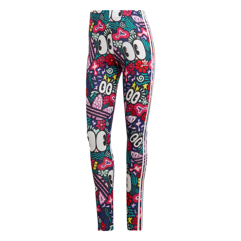 outlet online new concept buying new Adidas 3-Streifen Leggings für Damen Multicolor   Design by Hattie Stewart