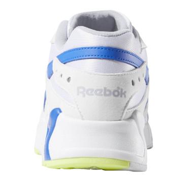 Reebok Aztrek Retro Freizeit Sneakers für Herren in weiß-blau-gelb