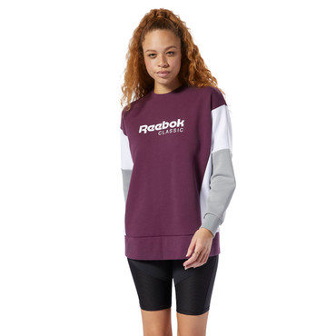 Reebok Classics Advanced Crew Sweatshirt für Damen in lila