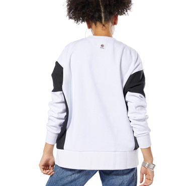 Reebok Classics Advanced Crew Sweatshirt für Damen in weiß