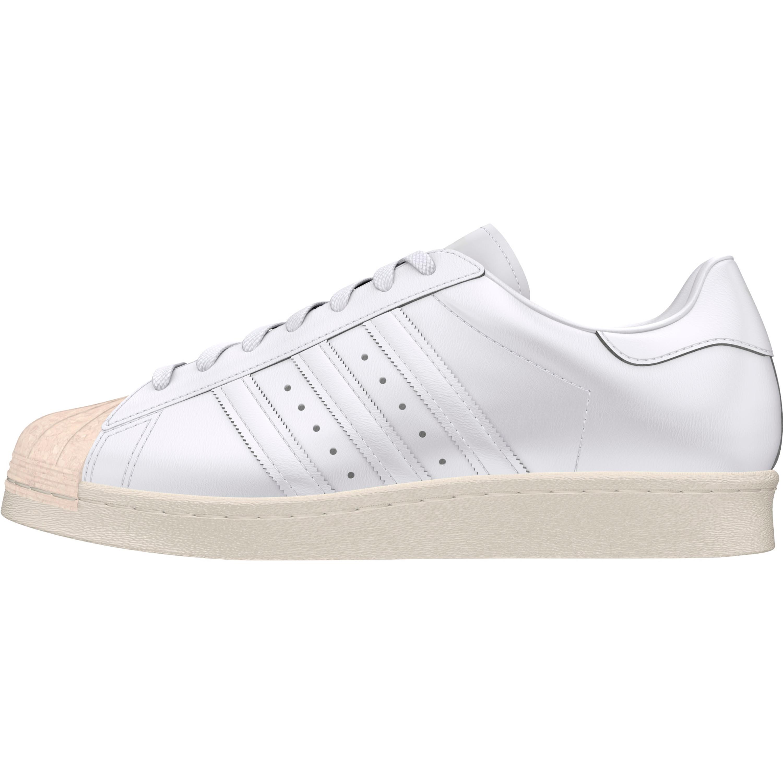 Adidas Superstar 80s Cork Retro & Vintage Sneakers für Damen in weiss
