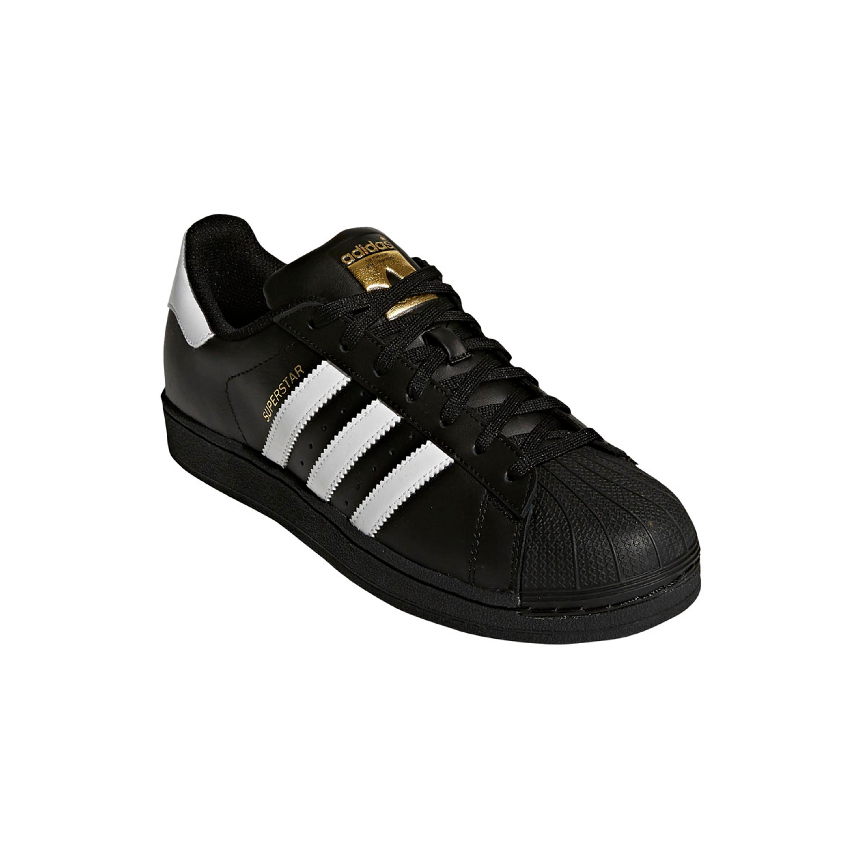 quality design c3f47 5cf48 Adidas Superstar Schuh Herren Retro & Vintage Sneaker in schwarz mit Shell  Toe aus Gummi