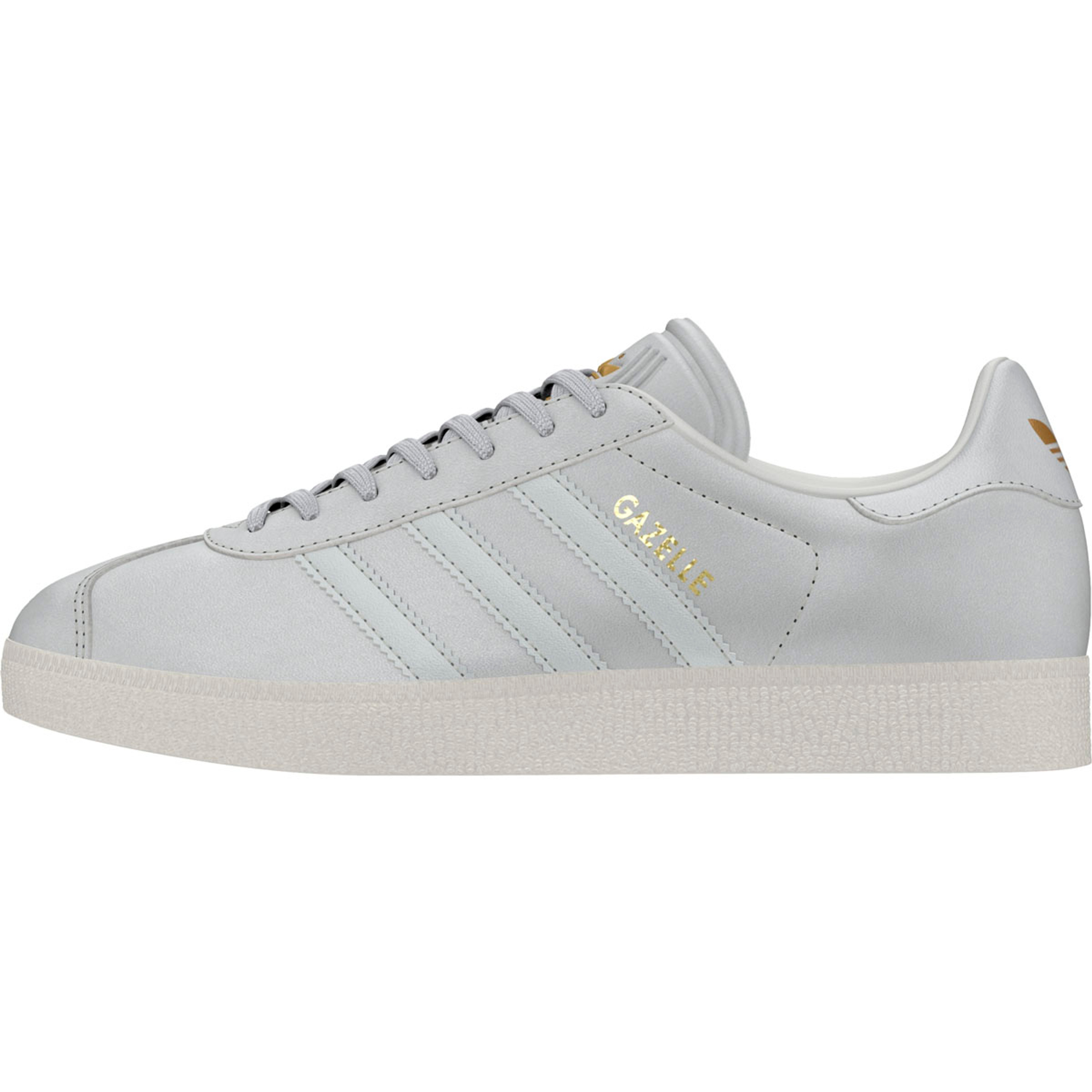 big sale 0d118 c3aca Adidas Gazelle Damen Retro-Vintage Sneakers in klassischem weiss  CRYWHT CRYWHT GOLDMT