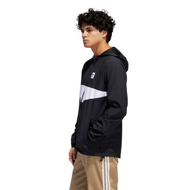 Adidas Dekum Packable Windjacke für Herren in schwarz