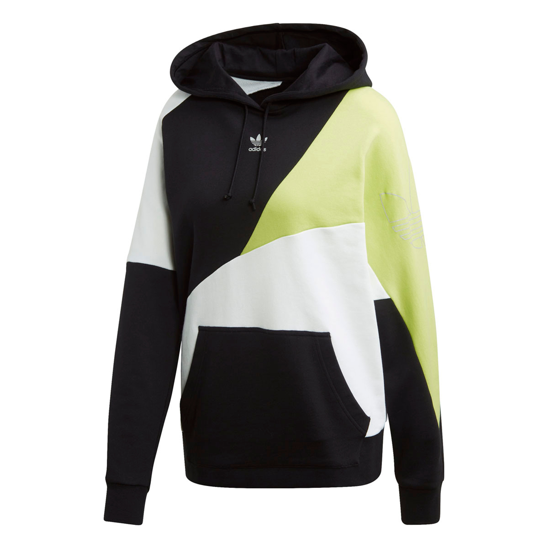 Adidas Hoodie für Damen in multicolor schwarz