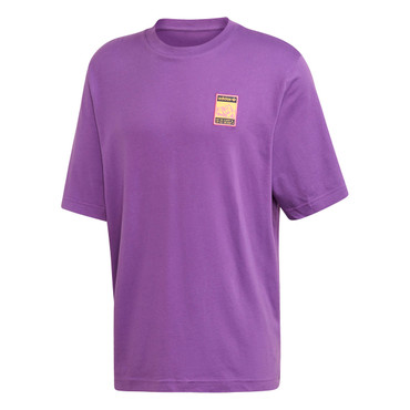 Adidas Graphic Tee T-Shirt für Herren in lila
