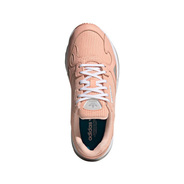 Adidas Originals Falcon Retro Freizeit-Sneakers für Damen in pink