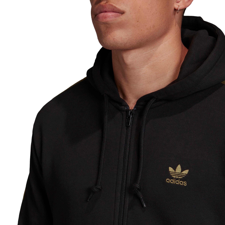 Adidas Originals Camouflage Hoodie Jacke für Herren in schwarz multicolor