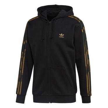 Adidas Originals Camouflage Hoodie Jacke für Herren in schwarz-multicolor
