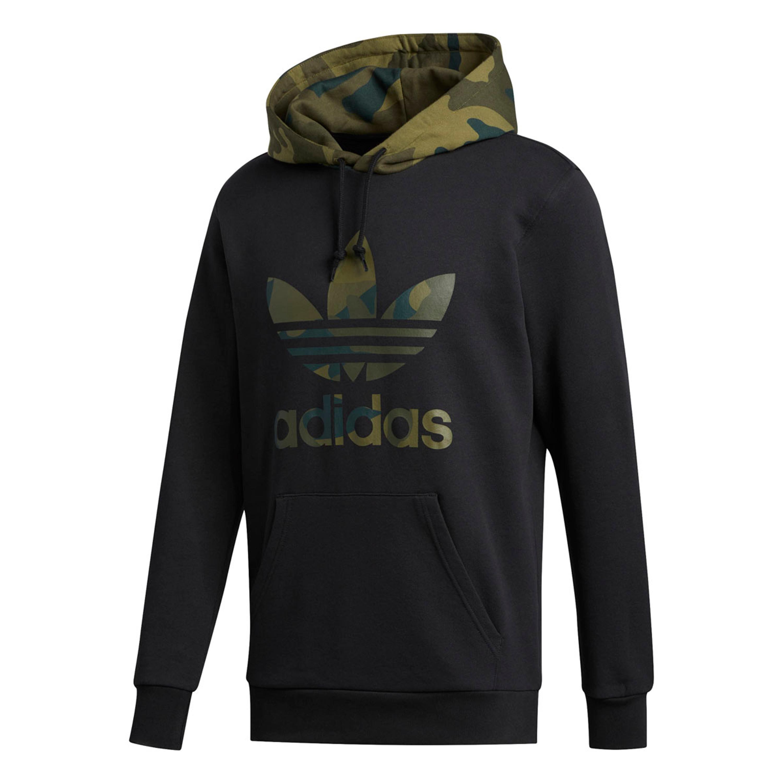 Adidas Originals Camouflage Hoodie für Herren in schwarz multicolor