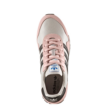 Adidas Haven Retro-Vintage Sneakers für Damen | silber, rosa