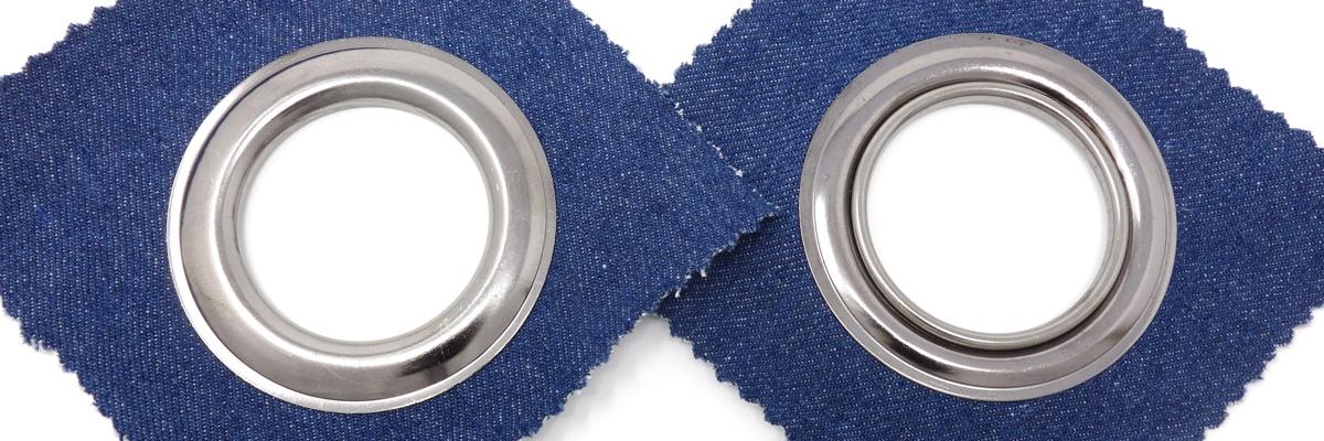 Ösen für Textilien