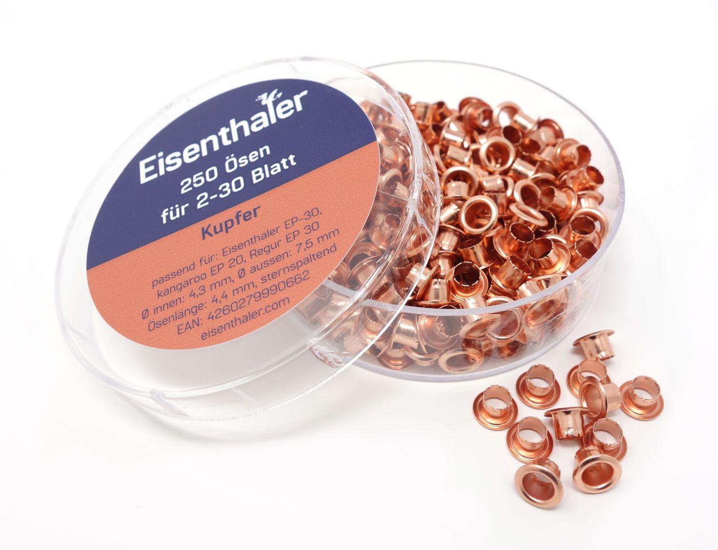 Eisenthaler 250 farbige Ösen EFC-30 f. EP-20, EP-30 & ET-30 Ösgeräte – Bild 11