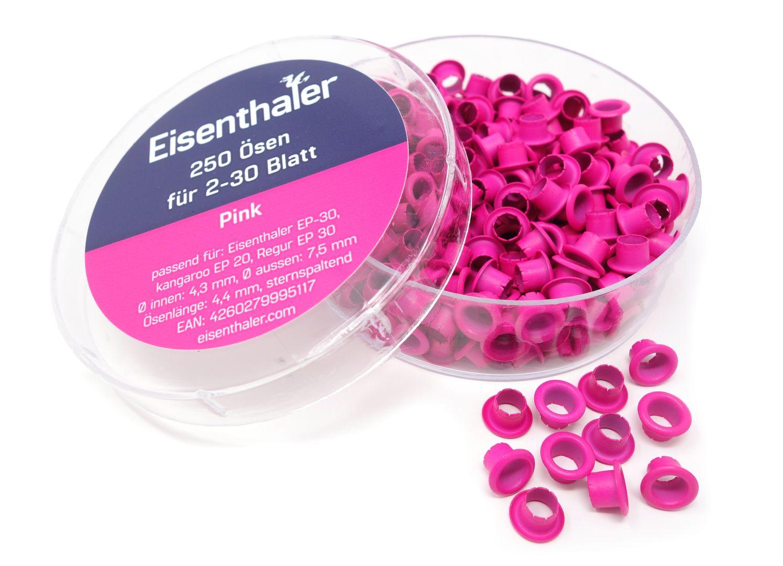 Eisenthaler 250 farbige Ösen EFC-30 f. EP-20, EP-30 & ET-30 Ösgeräte – Bild 7